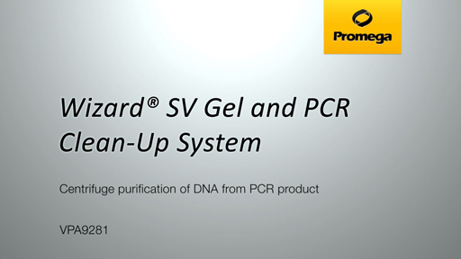 Wizard SV Gel and PCR Clean Up System PCR Spin